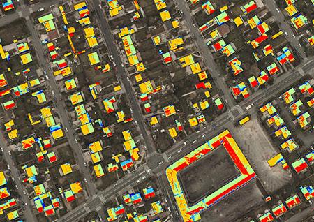 Cadastre solaire sur les toitures – Résultat sur 5 classes
