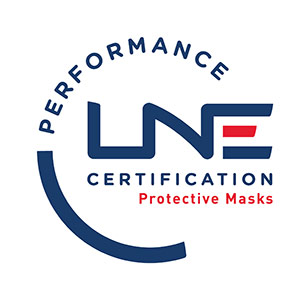 LNE CERTIFICATION Performance protective masks